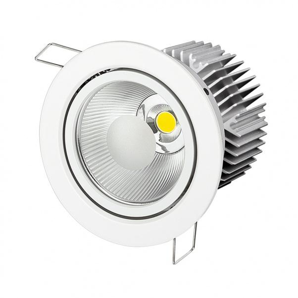 COB Down Light, COB ceiling light, CREE COB led down light, SHARP COB led down light, COB down light manufacturer